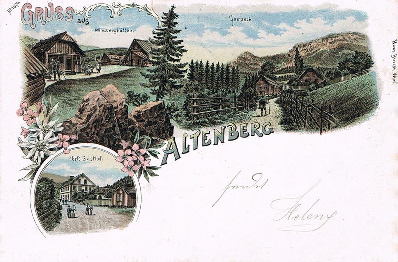 Altenberg: Bez. Mürzzuschlag (Steiermark) Al12