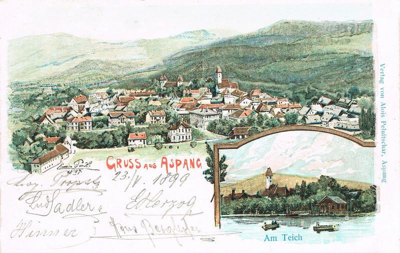 Aspang: Bez. Neunkirchen (Niederösterreich) Asp10