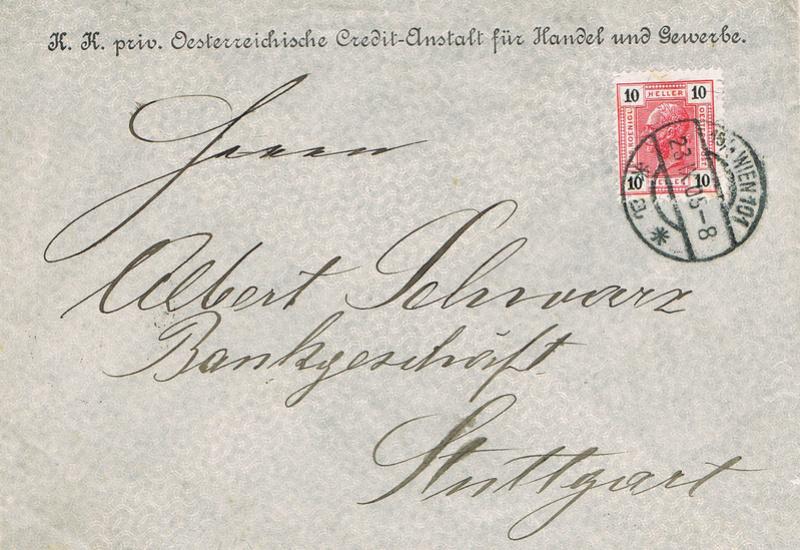 Briefe / Poststücke österreichischer Banken - Seite 4 B12