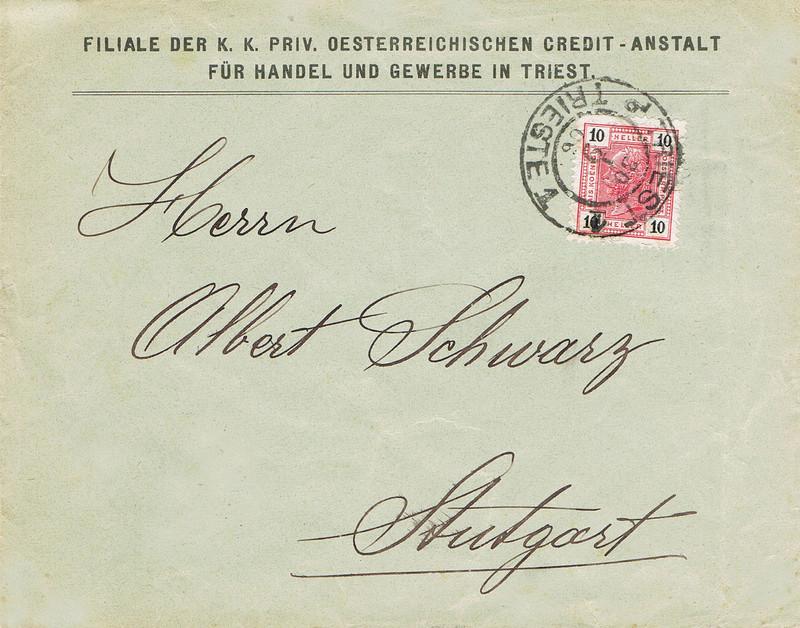 Briefe / Poststücke österreichischer Banken - Seite 4 B212