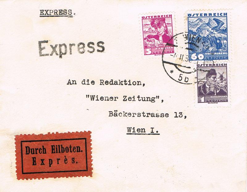 Österreich 1925 - 1938 - Seite 6 H10