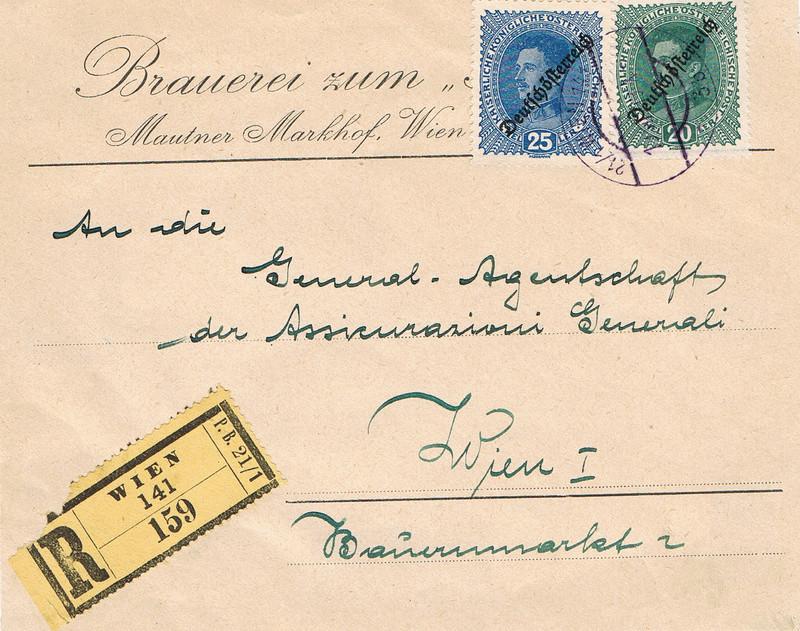 Inflation in Österreich - Belege - 1918 bis 1925 - Seite 9 I10