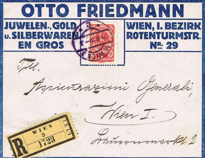 Inflation in Österreich - Belege - 1918 bis 1925 - Seite 9 I210