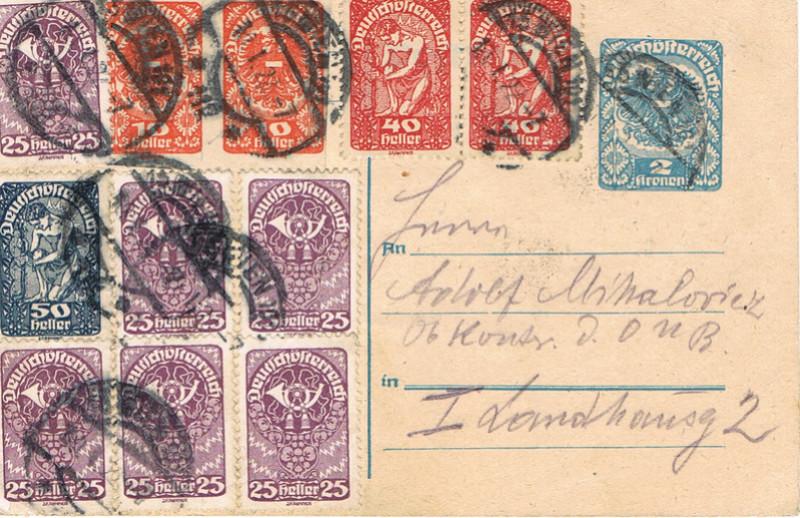 Inflation in Österreich - Belege - 1918 bis 1925 - Seite 9 Inf11