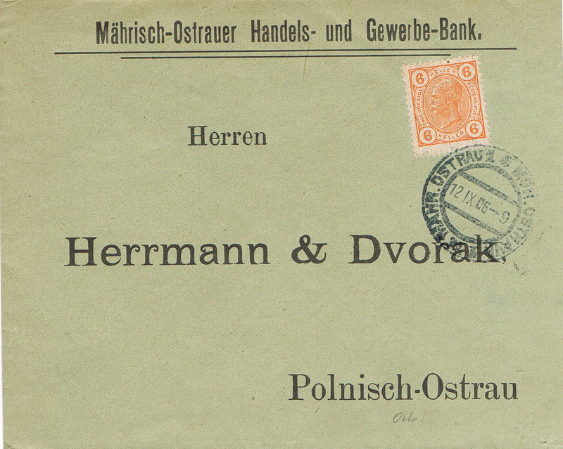 Briefe / Poststücke österreichischer Banken - Seite 4 Mo10