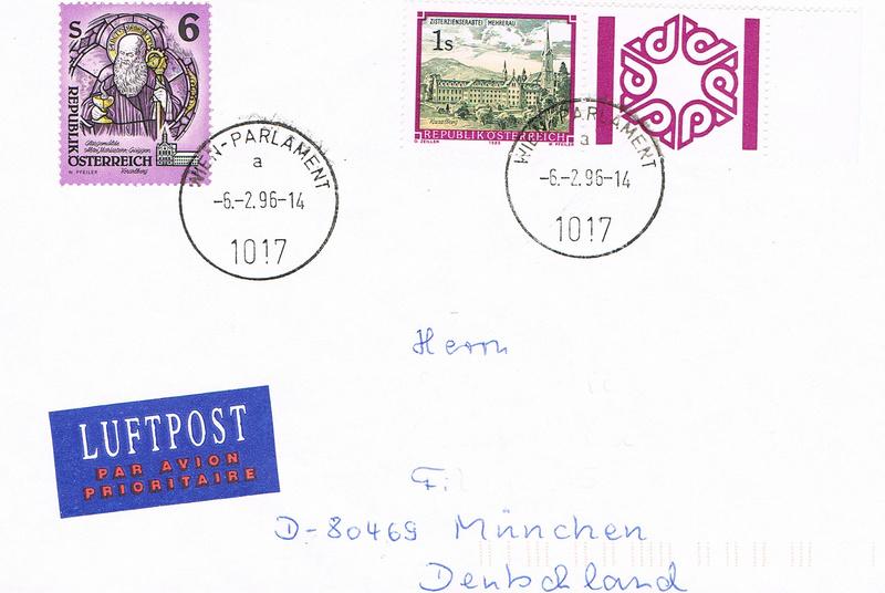 """Freimarkenserie """"Kunstwerke aus Stiften und Klöstern"""" St10"""