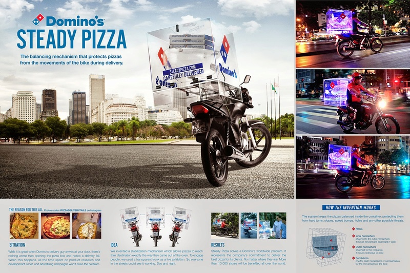 Steady Pizza - Domino's | Artplan  Domino10
