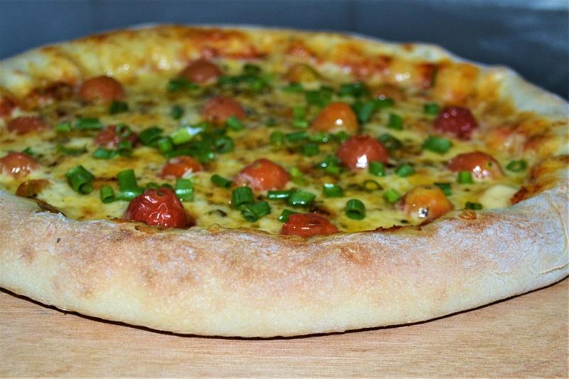 A boa pizza deve seduzir os olhos. Como tornar nossas pizzas irresistíveis? Dsc_0011