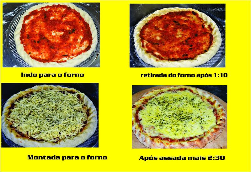Porque a mussarela geralmente ferve quando a pizza é levada ao forno e como evitar esta situação? - Página 2 Forno_11