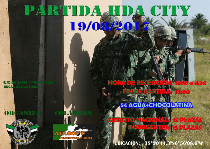 Partida HDA City 19/08/2017 Cartel12