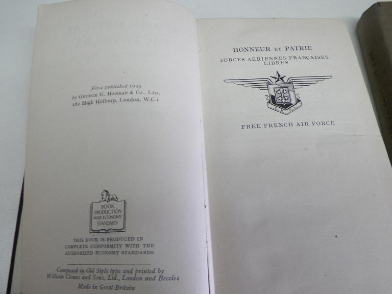 Manuel du gradé 1944 FAFC et dictionnaire aéronautique 1943 FAFL 100_3812