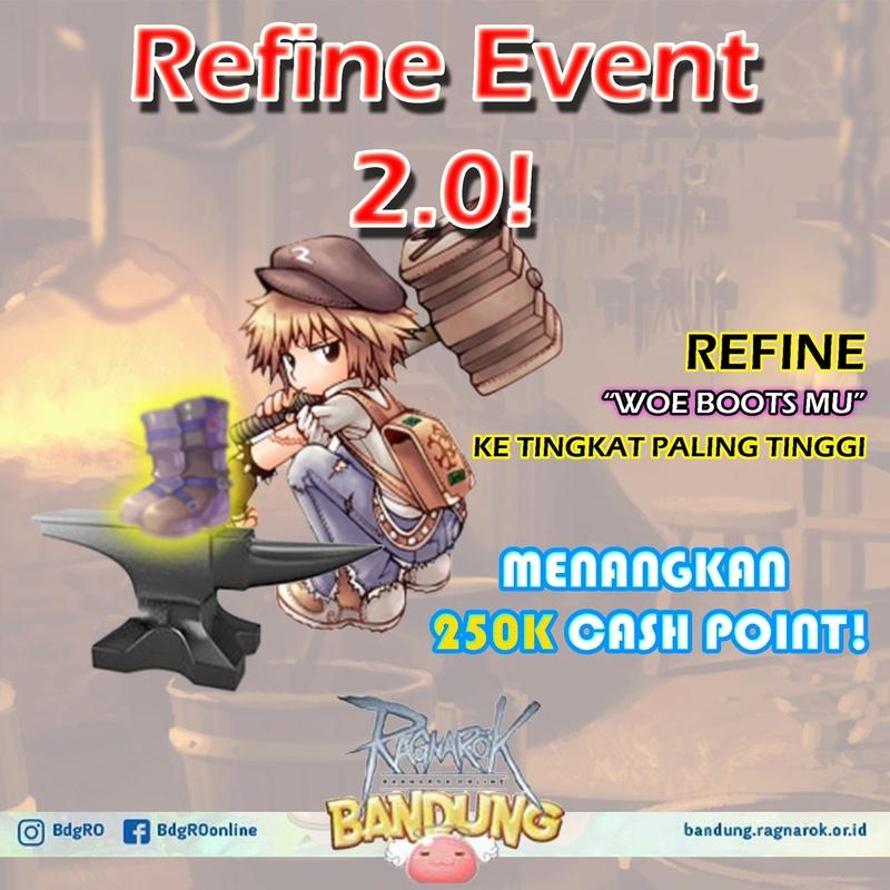 Event Refine 2.0 BandungRO Refine10