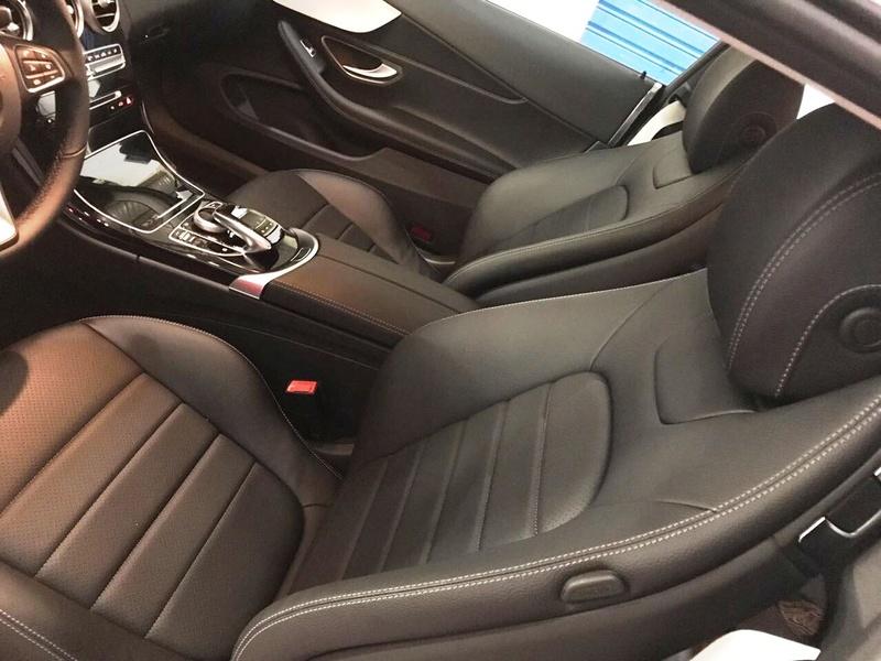 Ajuda com a C180 coupé 2017 C180110