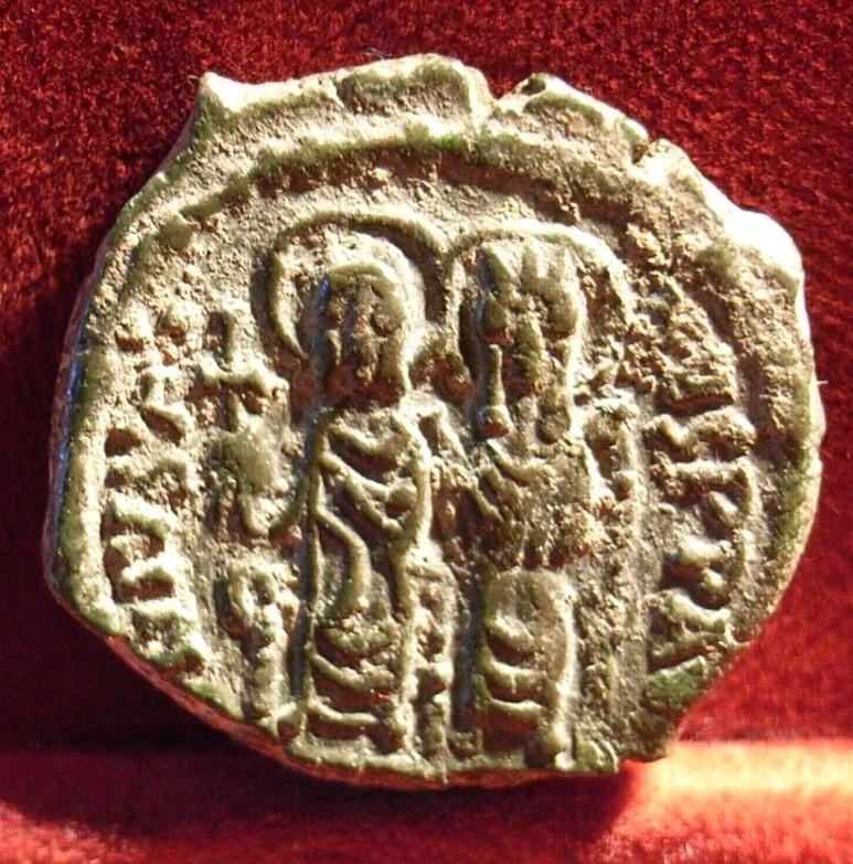 20 nummi de Justino II y Sofía 19748610