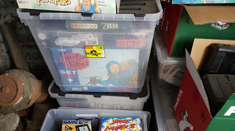 [SNES] Tintin au tibet Set Collector 20170612