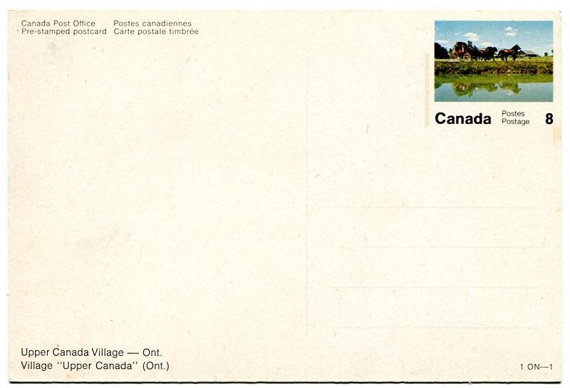 postales prefranqueadas de Canadá años 70 1on-1_11
