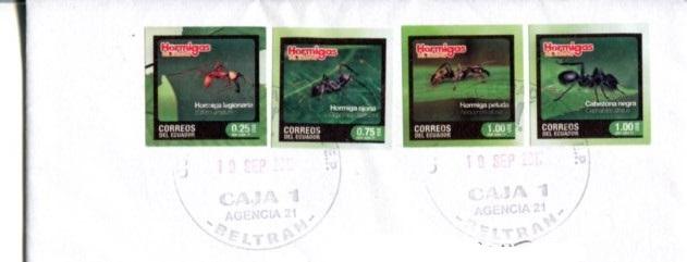 Sobre o postal de Ecuador - Página 2 Hormig11