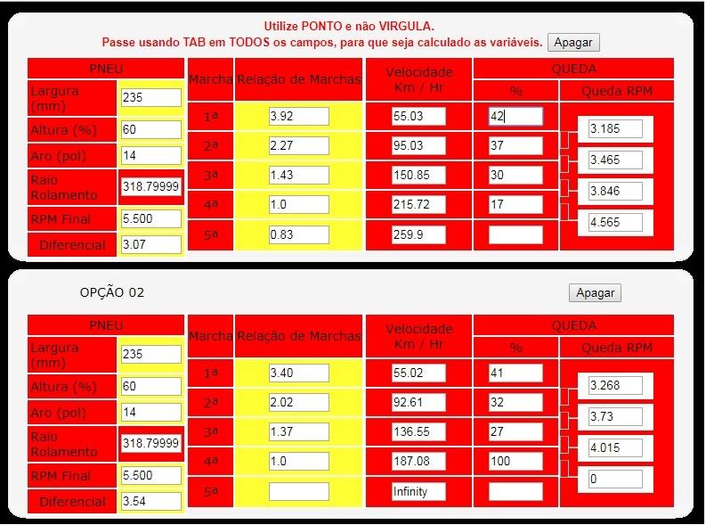 Regulagem de Folgas Diferencial Braseixos Relaca10