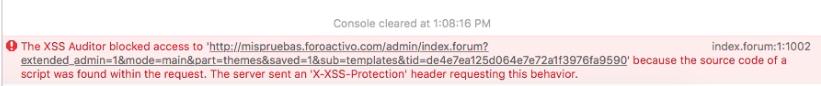 Bug al enviar textos muy grandes desde Safari Screen25