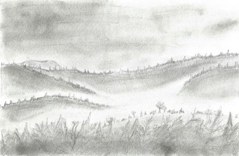 Un paysage dans la brume 2017-920