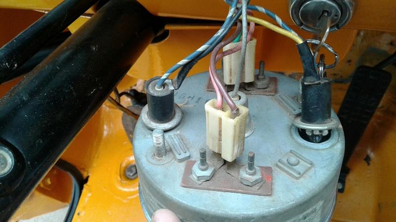 Marcador Combustível e Temperatura C10 1973 20170611
