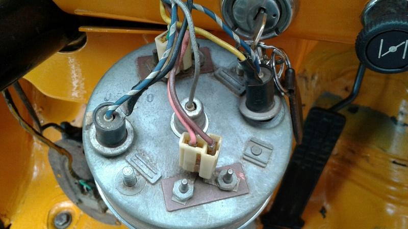 Marcador Combustível e Temperatura C10 1973 20170613