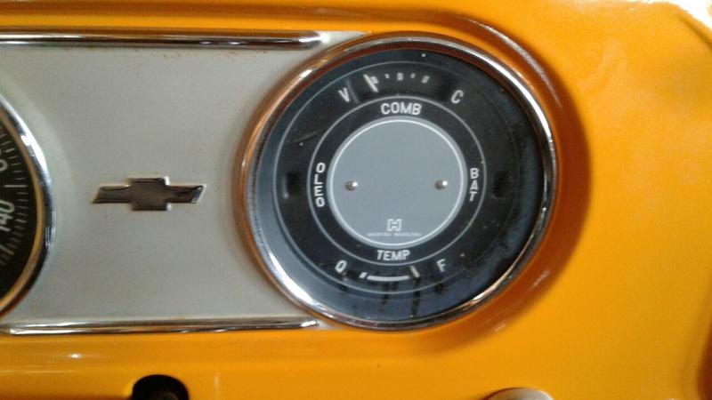 Marcador Combustível e Temperatura C10 1973 20170614