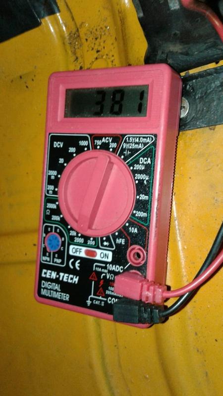 Marcador Combustível e Temperatura C10 1973 20170623