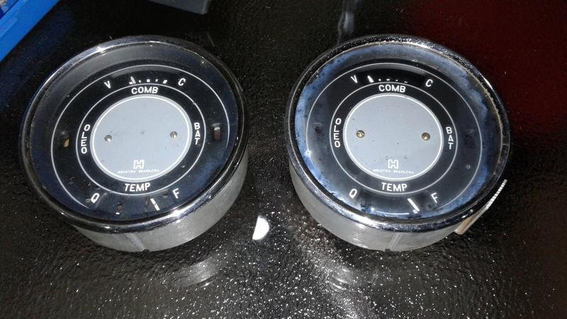 Marcador Combustível e Temperatura C10 1973 20170625