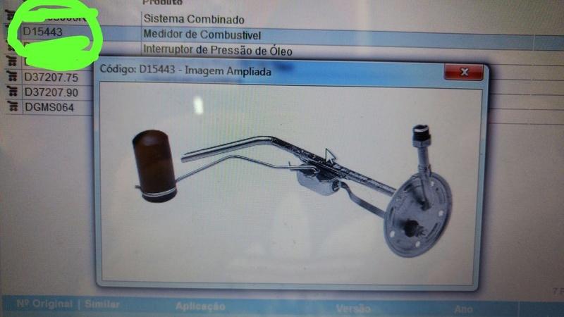 Marcador Combustível e Temperatura C10 1973 Img-2010