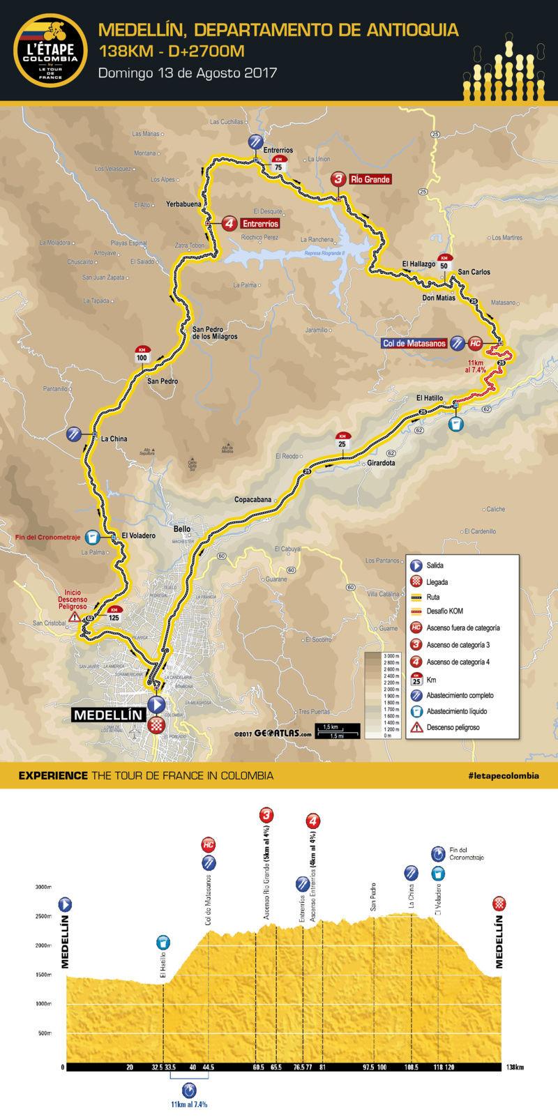 Carreras de Fondo para aficionados en Colombia Mapa_c10