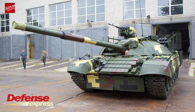 L'Ukraine dévoilera son MBT T-72AMT 20645110