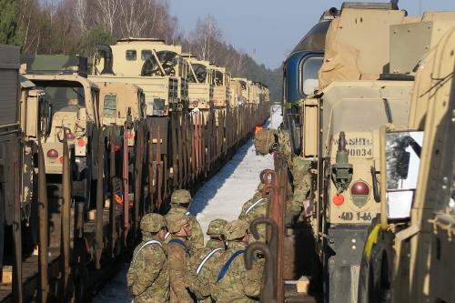 Relève des brigades US dans les pays de l'Est 32405210