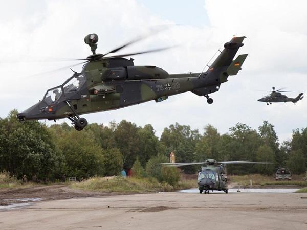 Crash d'un Tigre allemand de la MINUSMA près de Gao Bundes10