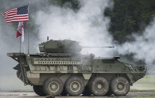 L'US Army déploie une nouvelle version du Stryker en Europe Dragoo10
