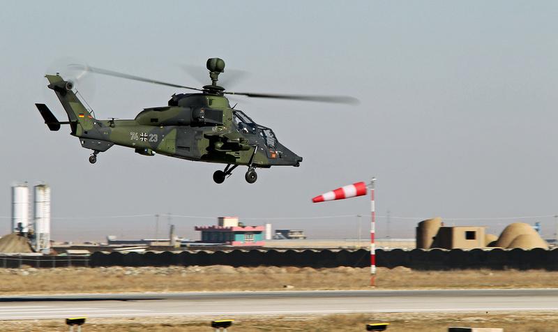 Crash d'un Tigre allemand de la MINUSMA près de Gao Euroco10