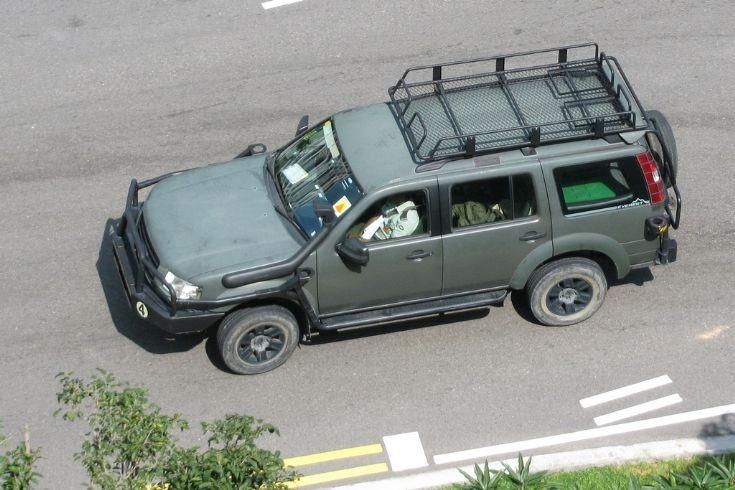 Le Ford Everest, VLTP des forces de sécurité de Singapour Forces10
