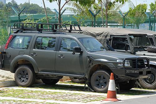Le Ford Everest, VLTP des forces de sécurité de Singapour Forces11