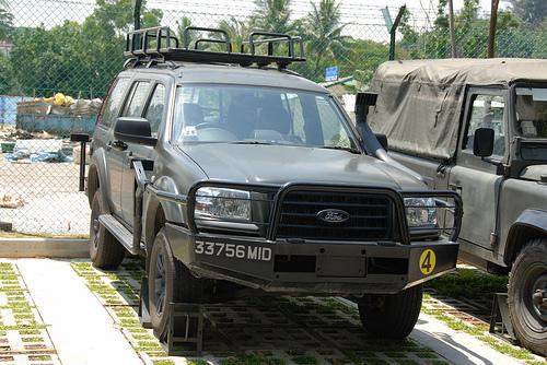 Le Ford Everest, VLTP des forces de sécurité de Singapour Forces12