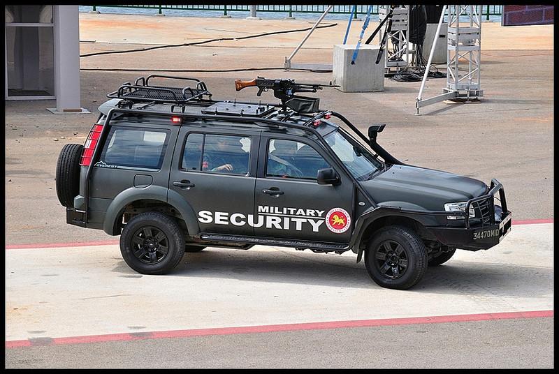 Le Ford Everest, VLTP des forces de sécurité de Singapour Forces14