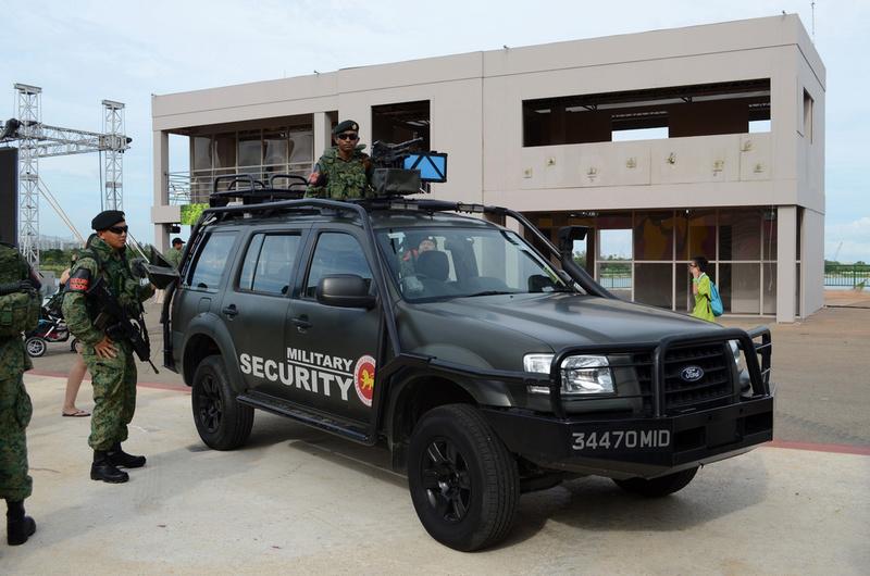 Le Ford Everest, VLTP des forces de sécurité de Singapour Forces15