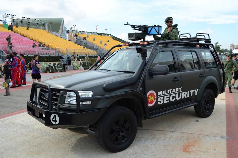 Le Ford Everest, VLTP des forces de sécurité de Singapour Forces16