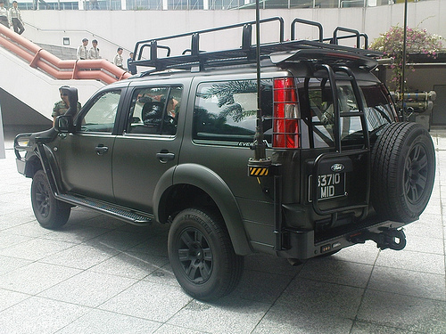 Le Ford Everest, VLTP des forces de sécurité de Singapour Ford_e10