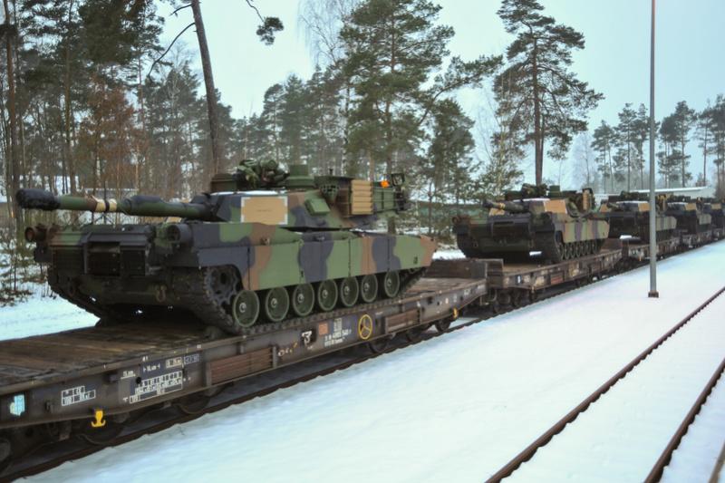 Relève des brigades US dans les pays de l'Est Origin10