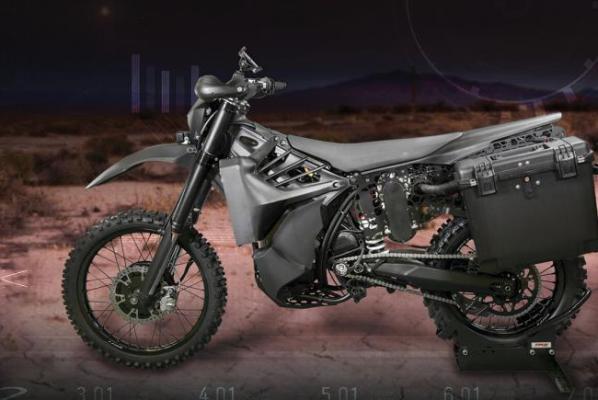 Deux motos « furtives » SilentHawk pour l'US Army Silent10