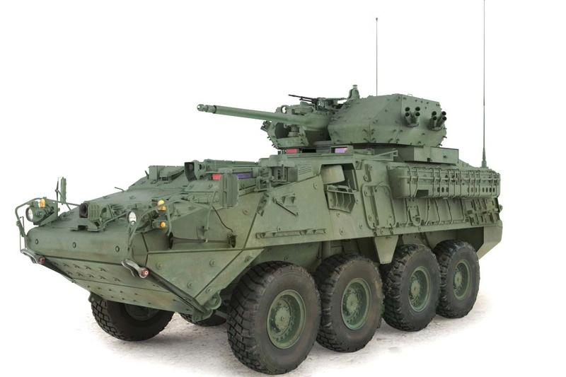 L'US Army déploie une nouvelle version du Stryker en Europe Stryke10
