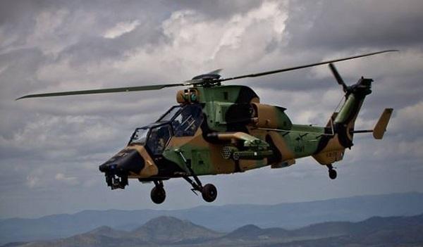 Crash d'un Tigre allemand de la MINUSMA près de Gao Tigre-12