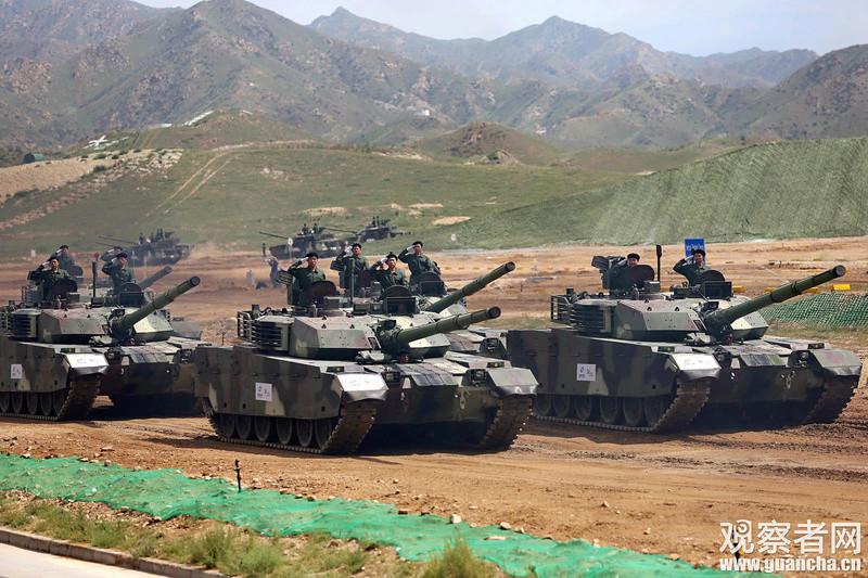 Première série de chars de combat chinois VT4 Vt-4-c10
