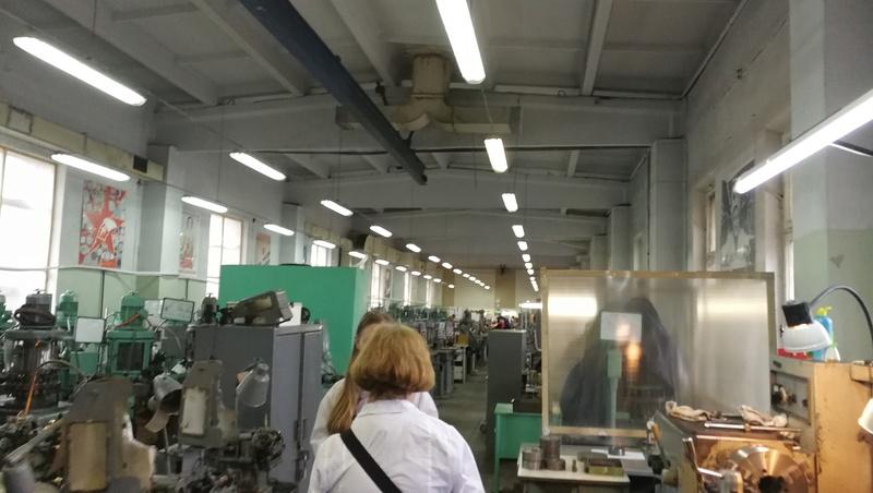 Une visite guidée de la fabrique  RAKETA à Saint Pétersbourg Img_2012