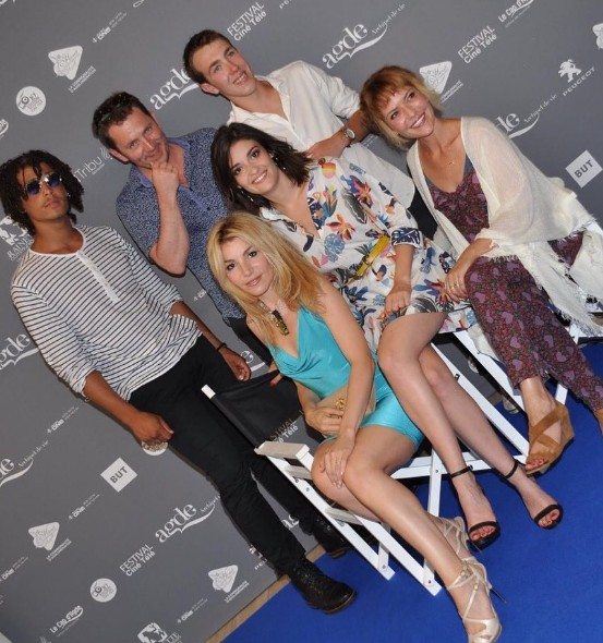 PBLV au Festival Les Hérault du Cinéma et de la Télé (24/06/17) Agde111